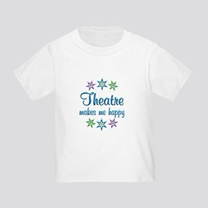 Theatre Happy Toddler T-Shirt