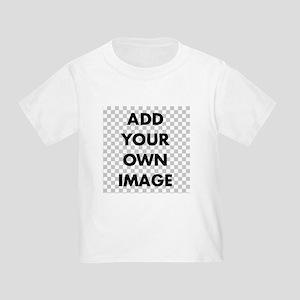 Custom Add Image Toddler T-Shirt