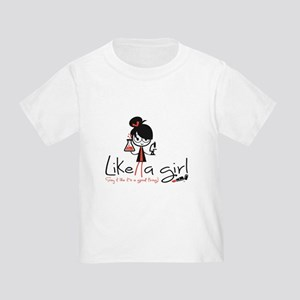Science Like A Girl! Toddler T-Shirt