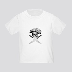 Chef skull: v2 Toddler T-Shirt