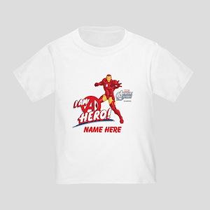 Avengers Assembled Iron Man Person Toddler T-Shirt