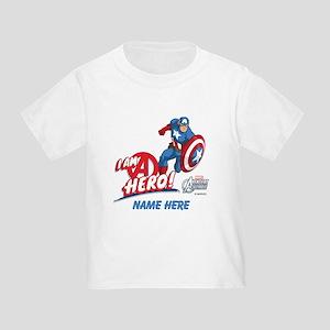 Avengers Assemble Captain America Toddler T-Shirt