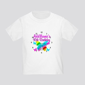 BLESSED 90TH Toddler T-Shirt