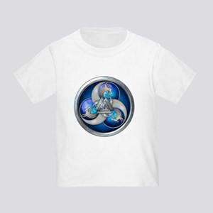 Blue Norse Triple Dragons Toddler T-Shirt