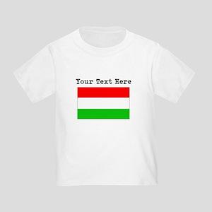 Custom Hungary Flag T-Shirt