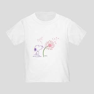 Snoopy Dandelion Toddler T-Shirt