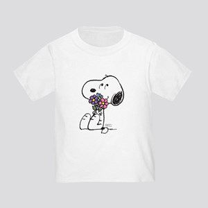 Springtime Snoopy Toddler T-Shirt