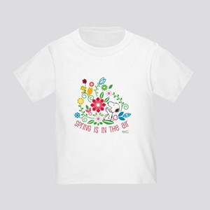 Snoopy Spring Toddler T-Shirt
