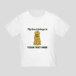 Personalized Goldendoodle Toddler T-Shirt