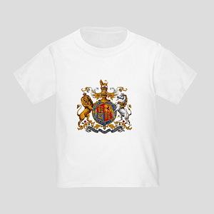 British Royal Coat of Arms Toddler T-Shirt