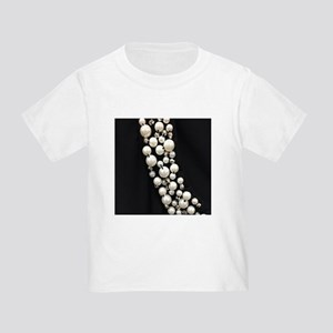 black and white pearl T-Shirt