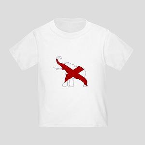 Alabama Republican Elephant Flag T-Shirt
