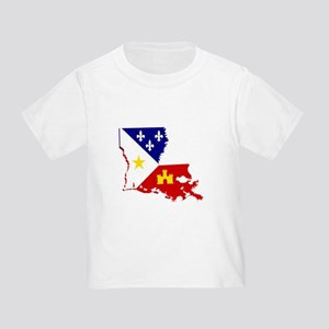 Acadiana State of Louisiana T-Shirt