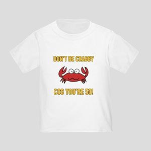 Funny 50th Birthday (Crabby) T-Shirt