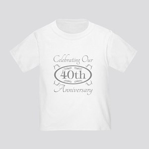 40th Wedding Anniversary T-Shirt