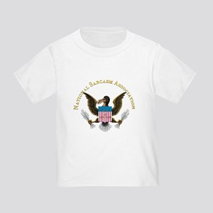 NSA Crest only 6x6 Transparent T-Shirt