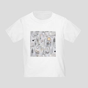White Vanity Table Toddler T-Shirt