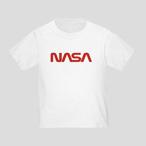 NASA Worm Logo Toddler T-Shirt