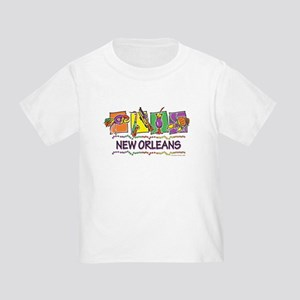 New Orleans Squares Toddler T-Shirt