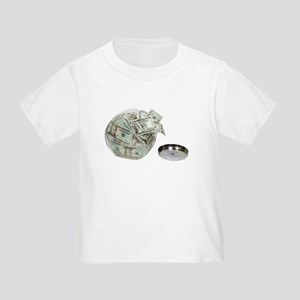 Cookie jar full of money Toddler T-Shirt