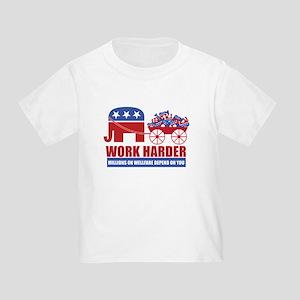 Work Harder Toddler T-Shirt
