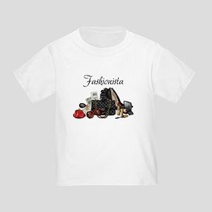 Fashionista Toddler T-Shirt