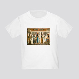 Ancient Egyptian Wall Tapestry Toddler T-Shirt