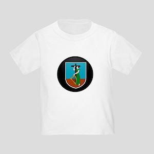 Coat of Arms of Montserrat Toddler T-Shirt