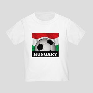 Hungary Football Toddler T-Shirt