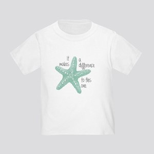 Makes a Difference Toddler T-Shirt