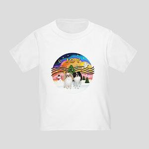 Music2-2Jap Chins (Lem+BW) Toddler T-Shirt