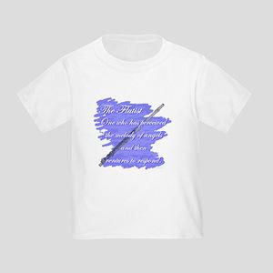 Flutist Verse Toddler T-Shirt