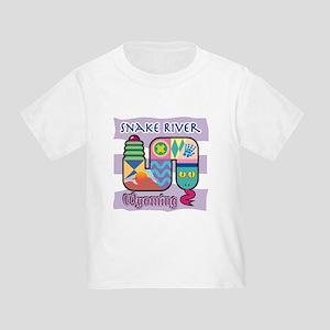 Snake River Wyoming Toddler T-Shirt