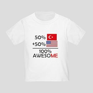 Half Turkish Half American T-Shirt