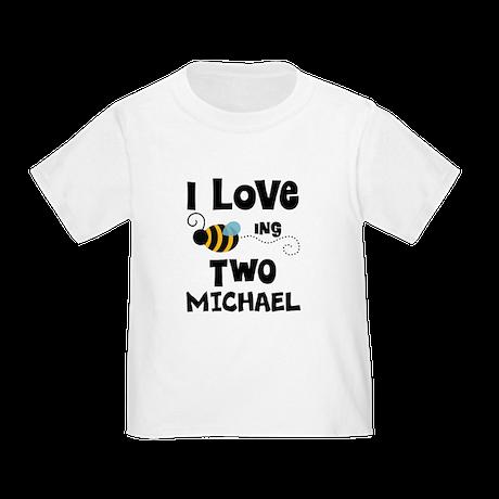2nd Birthday Personalized Bee T Shirt By MainstreetshirtKidsBirthday