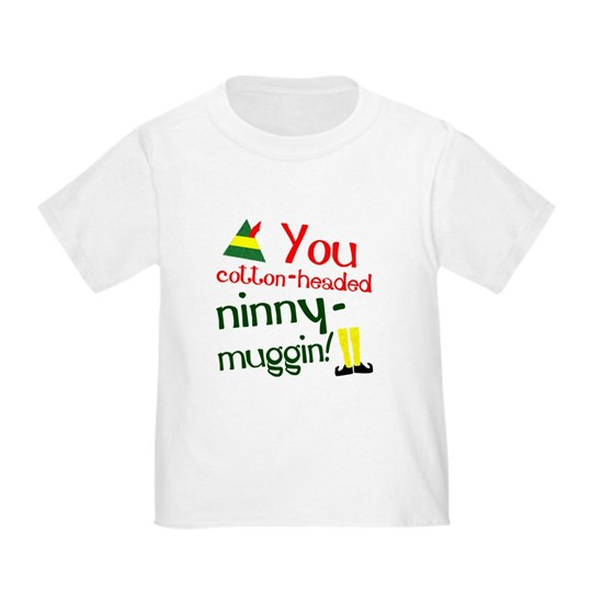 You cotton-headed ninny-muggin!