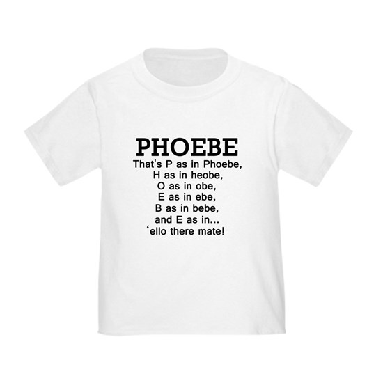 Friends phoebe name