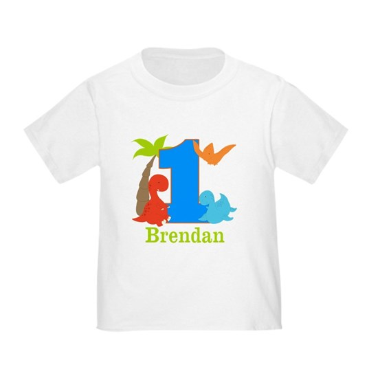 1st Birthday Dinosaur Personalized