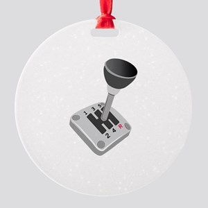 Gear Shift Ornament