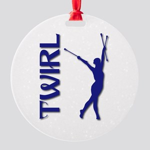 TWIRL Round Ornament