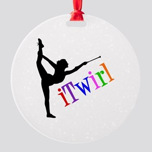 iTWIRL Round Ornament