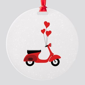 Italian Scooter Ornament
