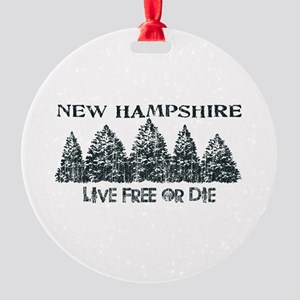Live Free or Die Ornament