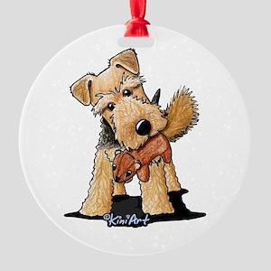 Welsh Terrier Ornaments Cafepress