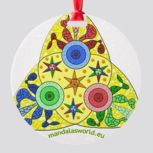 Modernism Gaudi Guell n2 Round Ornament
