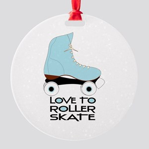 Love To Roller Skate Ornament