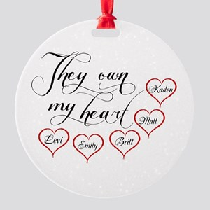 Children They own my heart Ornament