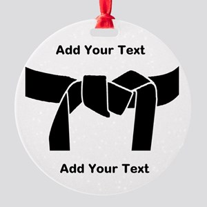 Black Belt Ornament