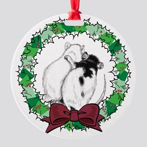 ornament-hug Round Ornament