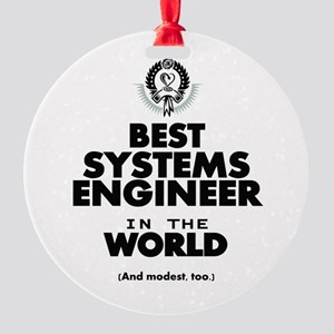 Best 2 Systems Engineer copy Ornament